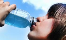 Le sportif a soif