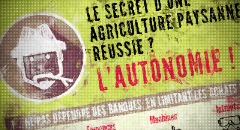 Le secret d'une agriculture paysanne réussie.
