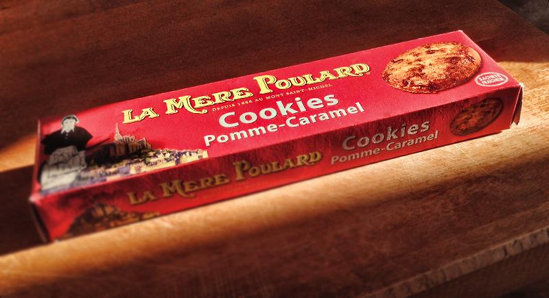Cookies Pomme Caramel de la mère Poulard
