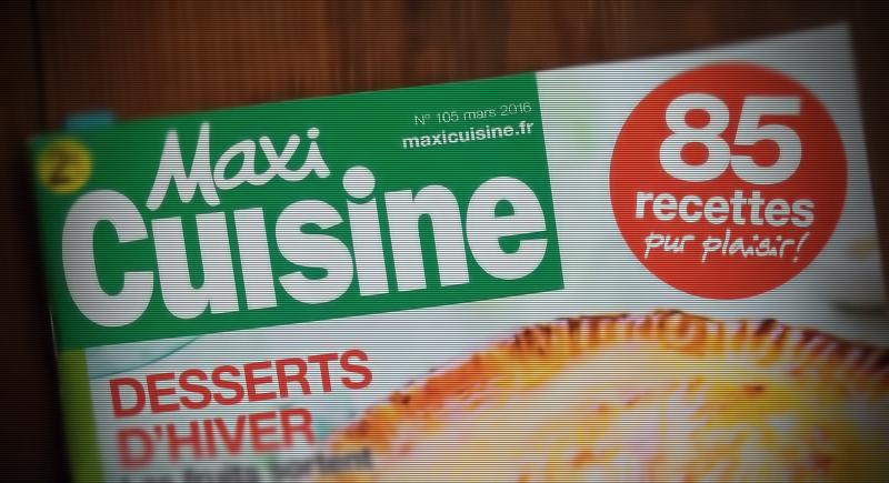 MaxiCuisine pour un maxi refus des produits industriels